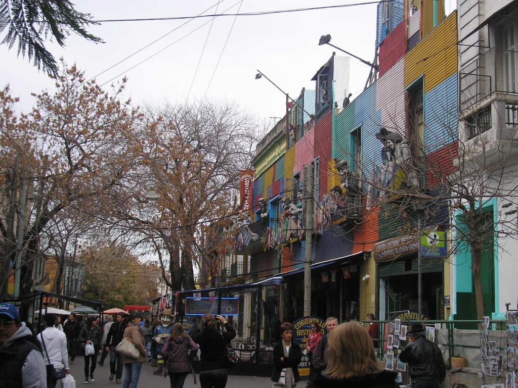 Barrio de la Boca, Argentina   Foto: Víctor Olcina