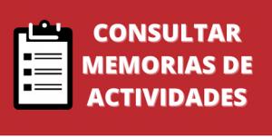 Memoria de actividades Servicio Relaciones Internacionales UMH botón