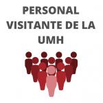 Personal visitante UMH botón