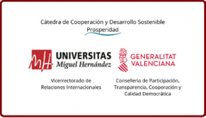 Cátedra de Cooperación y Desarrollo Sostenible Prosperidad UMH logo