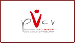 PVCV Plataforma de Voluntariado de la Comunidad Valenciana alianzas UMH logo