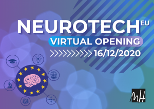 Banner NeurotechEU Virtual Opening