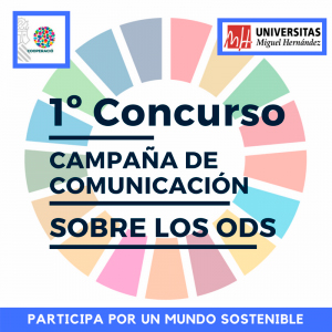 Cartel 1er Concurso comunicación sobre los ODS UMH