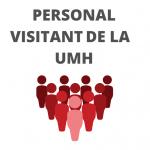 Personal visitant UMH botó