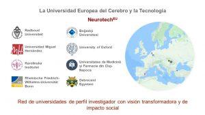 Diseño Red de Universidades NeurotechEU