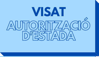 Visat Autorització d'estada UMH botó