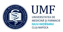 UMF Medicine Pharmacy Cluj-Napoca logo