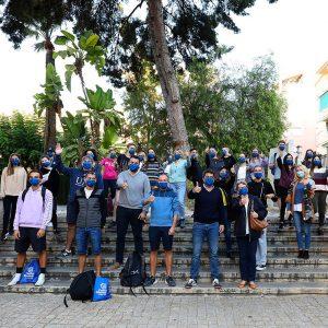 Autoridades Diputación Alicante y estudiantes incoming
