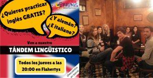 Tándem linguístico Actividades Club Erasmus Club UMH