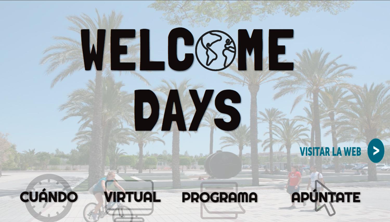 Welcome Days UMH web Actividades Club Erasmus