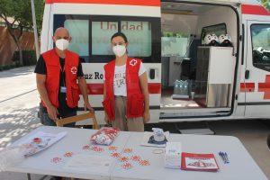 Visita de Cruz Roja Elche a la UMH