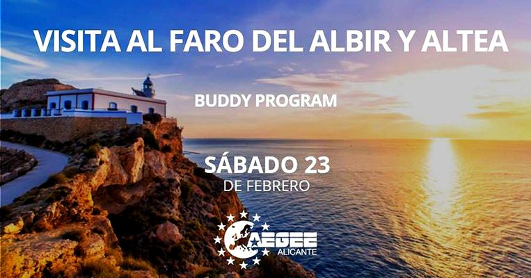 Visita al Faro del Albir Club Erasmus UMH