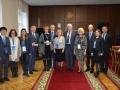 BIELORRUSIA 2018-10-26 MINISTRO Y RECTOR